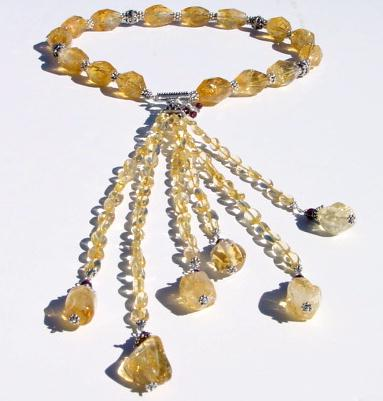 Citrine Necklace CITG903