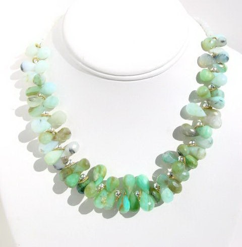 Peruvian Opal Necklace N_POPL101905     $185.00