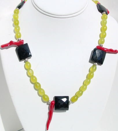 Coral Branch Necklace N_CORAL102205    $59.00