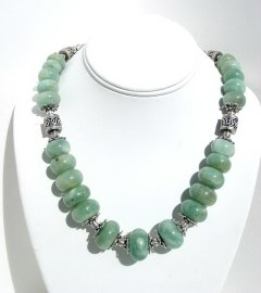 Aquamarine Necklace N_AQUA102105     $285.00