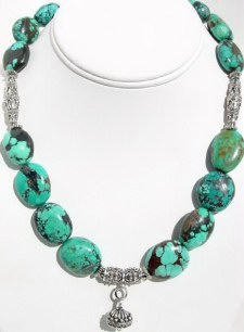 Turquoise Necklace N_TRQ102205       $120.00