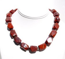 Red Jasper Necklace N_REDJ102305          $49.00