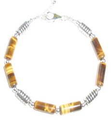 Tiger Eye Bracelet MB - TIGEYEB2607   $29.00