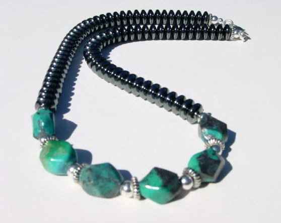 Hematite and Chrysocolla MN - CHRY10105   $55.00