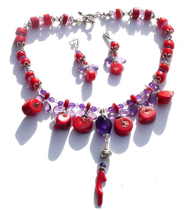 Coral and Amethyst Necklace.jpg