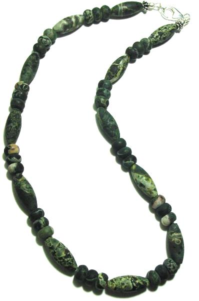 Men Kambaba Jasper Necklace