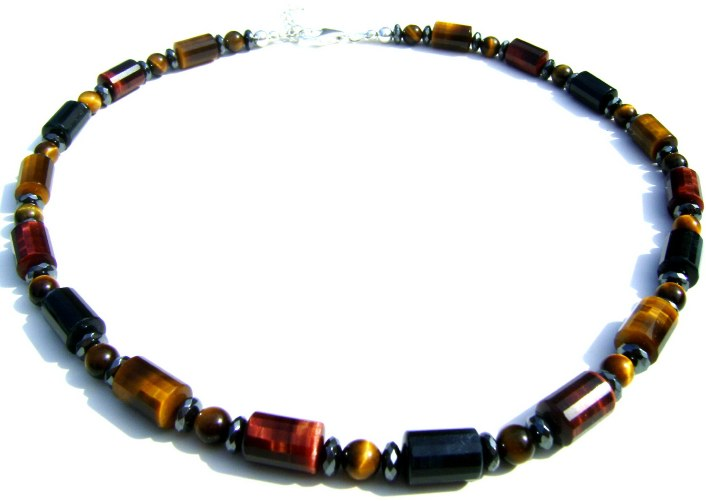 Tigereye Beaded Necklace
