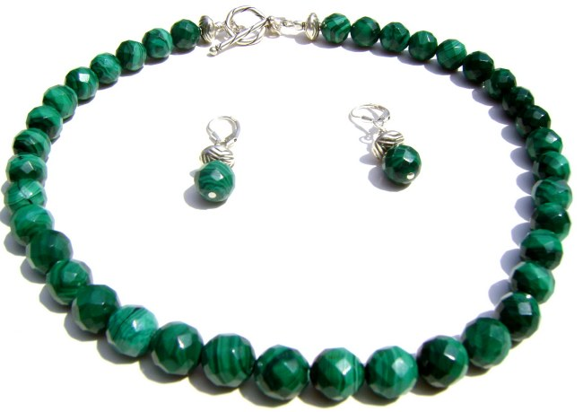 Malachite Necklace Set.JPG