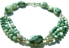 Tree Moss Agate Necklace