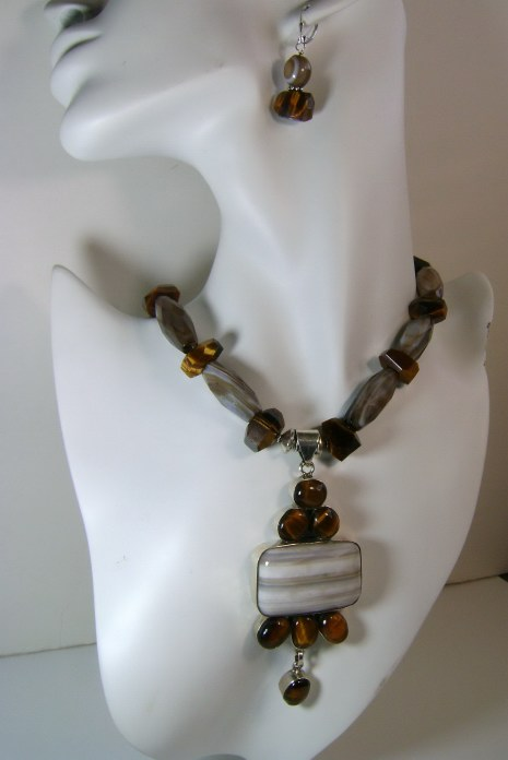 Handmade Tigereye Necklace