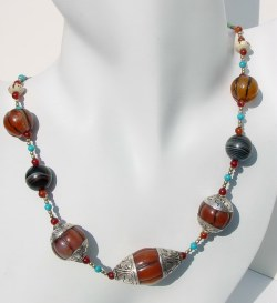 Mix Gemstone Necklace
