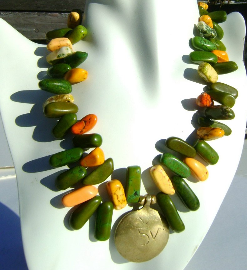 mix Agate Necklace