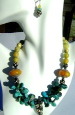 Mix Turquoise Necklace