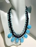 Aquamarine Necklace: Shop for aquamarine necklace at creative Bead Designs