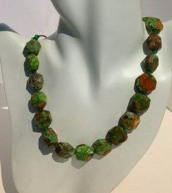 Chunky Nuggets Jasper Necklace